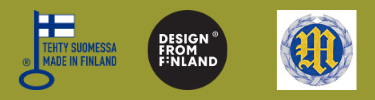 Avainlippu, Design from Finland ja Mestarikilta logot